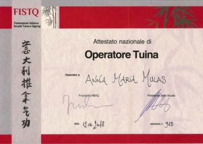 FISTQ OPERATORE TUINA 12.06.2018